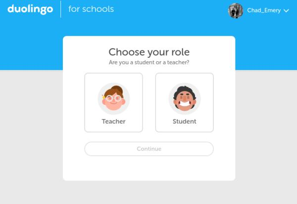Duolingo For Schools and Duolingo Classroom help teachers encourage their students to learn a language outside of the traditional classroom.