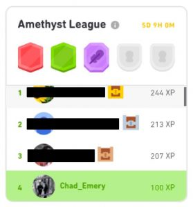 Duolingo leagues help you stay motivated to learn a language with Duolingo. There are 10 different Duolingo leagues.