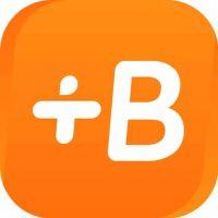 Logo of Babbel language learning app