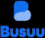 Busuu logo. You can learn a language online with Busuu!