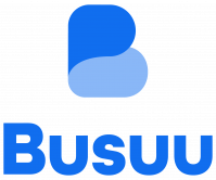 Busuu logo. You can learn a language online with Busuu!