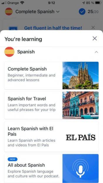 Busuu Spanish course review