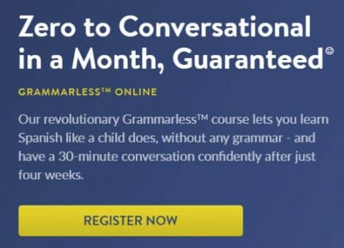 This is the homepage of the Baselang Grammarless program. This Baselang review discusses the Grammarless program because it is a popular choice among Baselang students.