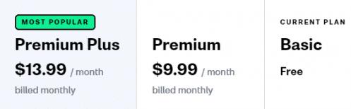 Busuu price and cost comparison